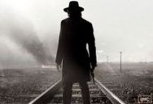 RETRIBUTION RAILS / Inspiration for a companion novel to VENGEANCE ROAD, out 11/7/17 from HMH // Set in 1887 Arizona, RETRIBUTION RAILS is about a boy in possession of a mysterious gold coin who is forcibly recruited by a train-robbing gang interested in the piece, and about the aspiring female journalist who will either be his ticket to freedom—or a noose.