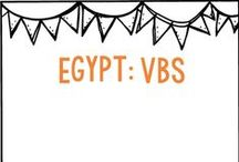 Egypt - VBS - Moses / by Belinda Anderson