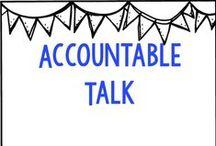 Accountable Talk Resources / by Belinda Anderson