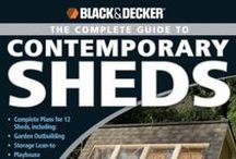 Down the shed / Things you'd make in, collect for, decorate with, store in or build one from.  All things shed.