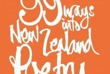 National Poetry Day / New Zealand Poetry to read and have fun with!