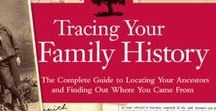 Family History Month / August is Family History Month! This board is packed with some great resources for anyone interested in tracing their family tree>