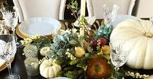 Thanksgiving Tablescapes - Product Photography / Making your table look as good as your food is going to taste.