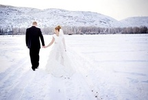 Winter Wedding Inspiration  / Pure white snow, roaring fires, mulled wine...