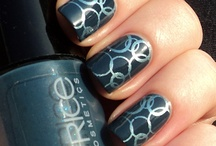 Neat-O Nails / It's amazing how many cool ideas are out there for nails these days. It's so much fun! Shellac is amazing, and I'm hooked on that right now.  / by Heather