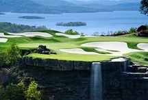 Golf Branson / Set in the beauty of the rolling hills of the Ozarks, you'll find mountain and valley layouts that offer a variety of playing experiences, suited for every level of play.  All are located in the heart of the Midwest, within 500 miles and an easy plane ride from every major city in America. / by Explore Branson
