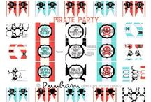 Pirate Birthday Party & Free Printables