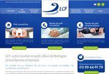 Economie - Sites Internet / Sites Internet crées par Cognix Systems, SSII située à Rennes et Brest