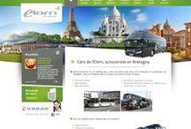 Transport - Sites Internet / Sites Internet crées par Cognix Systems, agence Web située à Rennes et Brest, pour les entreprise de transport