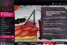 Restauration - Sites Internet / Sites Internet crées par l'agence Web Cognix Systems pour les professionnels de la restauration