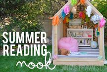 Summer / Summer decorating, diy, entertaining, crafts, and inspiration #summer #summer decor #decorating for summer #summer crafts