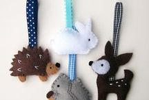Felt Can Be Fun / Using felt in interesting and fun ways.  / by Joy Phillips-Mayes
