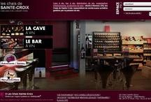 Bar, Lounge, Cave - Sites Internet
