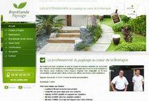 Jardin  - Sites Internet / Site Internet crées par l'agence Web Cognix Systems pour les professionnels du Jardin