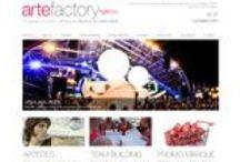 Evènementiel - Sites Internet / Sites Internet crées par l'agence Web Cognix Systems pour des entreprises évènementielles