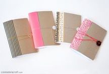 Books and Journals / Crafts and DIYs using for books, journals, readers and storytellers.