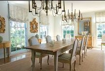 dining rooms / by Robin Geis