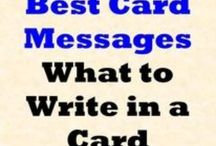 Inside of cards