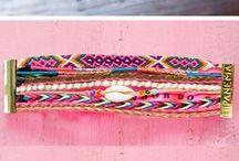 Fabric jewelry  / by Monica Robinson