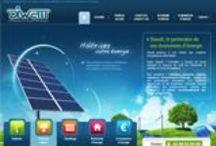 Ecologie, Environnement, Energie - Sites Internet / Sites internet dédiés à l'environnement, aux économies d'énergie.