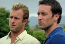 Alex O'Loughlin and Scott Caan / Real pictures of Alex O'Loughlin and Scott Caan, (and Steve and Danno)