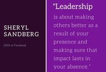 Quotes to Live By / Leadership Quotes #WomensLeadership #Leadership #WordsToLiveBy