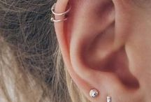 piercings/earings