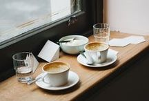 Easy Silence / An homage to my love of cafes, hot mugs, and meandering conversations with close friends...
