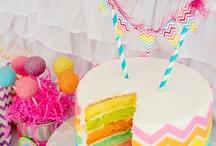 Rainbow Party - cake