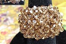 beaded beads, ornaments, etc.