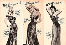 Vintage Lingerie / We like pretty things! And we also like looking back at pretty things people used to wear. :) / by Corset Connection