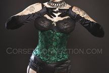 Affordable Excellence Steel Boned Corsets! / All of our corsets under $100! Both overbust and underbust corsets, rocking it all in one place. / by Corset Connection