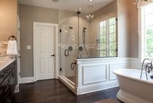 Bathrooms/Laundry/Mud Rooms / by Kristen O'Neal
