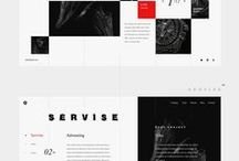 Case Studies - Websites and Apps / Collection of full length case studies found on Behance, Dribbble and Pinterest