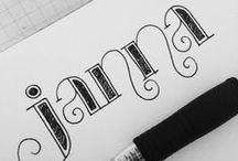Just my type / by Kim Clendenin