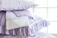 Bed Linens / Simple Luxuries, Simple Pleasures
