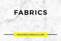 FABRICS / architectural fabric | interior design textile ideas | textile ideas | fabric ideas | home fabric | interior design fabric | textile design | textile pattern | patterned fabric | textile textures