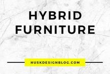 HYBRID FURNITURE / hybrid furniture | hybrid furnishing | hybrid design | product design | product designers | mobilier double emploi | mobilier double fonction | furniture design | furniture ideas | futuristic furniture | innovative furniture | ingenious design | ingenious furniture | space saving