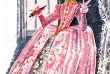 Illustrations to fairytales