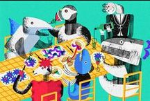 Mummu Loves... / A selection of illustration and animation that's grabbed our attention!   www.mummu.co.uk / by MUMMU LONDON