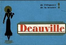 Old posters of Deauville / by deauville