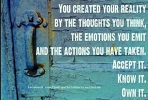 Law of Attraction & Quantum Physics / Karma, Law of Attraction, Quantum Physics, Prayer and the Golden Rule are all part of the same concept: WE CREATE OUR REALITY! / by Mama-Indigo