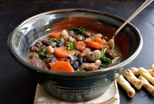 Crockpot/Soup / Healthy crockpot/soup recipes!