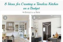 KITCHENS! / Filled with Kitchens from some of our listings as well as tips, DIYs, inspiration and incredible advice to make your kitchen the centre of  home!