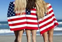 Red, White, & Blue Summer Sale / Select Styles 50% off in-stores and online www.henribendel.com / by Henri Bendel