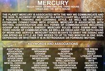 Cosmo: Mercurio in Gemelli / Cosmos: Mercury in Gemini 28.18 III Sagittarius 6.18 - Mercury represents communication, Cartesian and logical spirit.