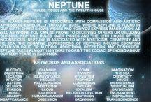 Cosmo: Nettuno in Sagittario / Cosmos: Neptune in Sagittarius 16.43 R IX Gemini 6.18 - Neptune represents transcendental liberty, non-egoistic liberty.