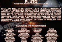 Cosmo: Plutone in Bilancia / Cosmos: Pluto in Libra 13.57 R - Pluto represents transformations, mutations and eliminations.