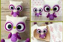 Softies and plushies / Stuffed handmade inspiration