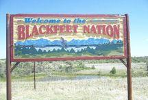 Patrimonio Famiglia: Native American / Family Heritage: Native American (Blackfoot)